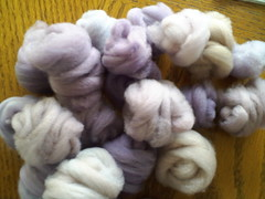 Purple merino nests