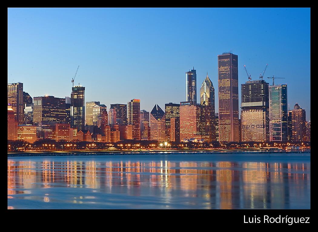 Parte del skyline de Chicago