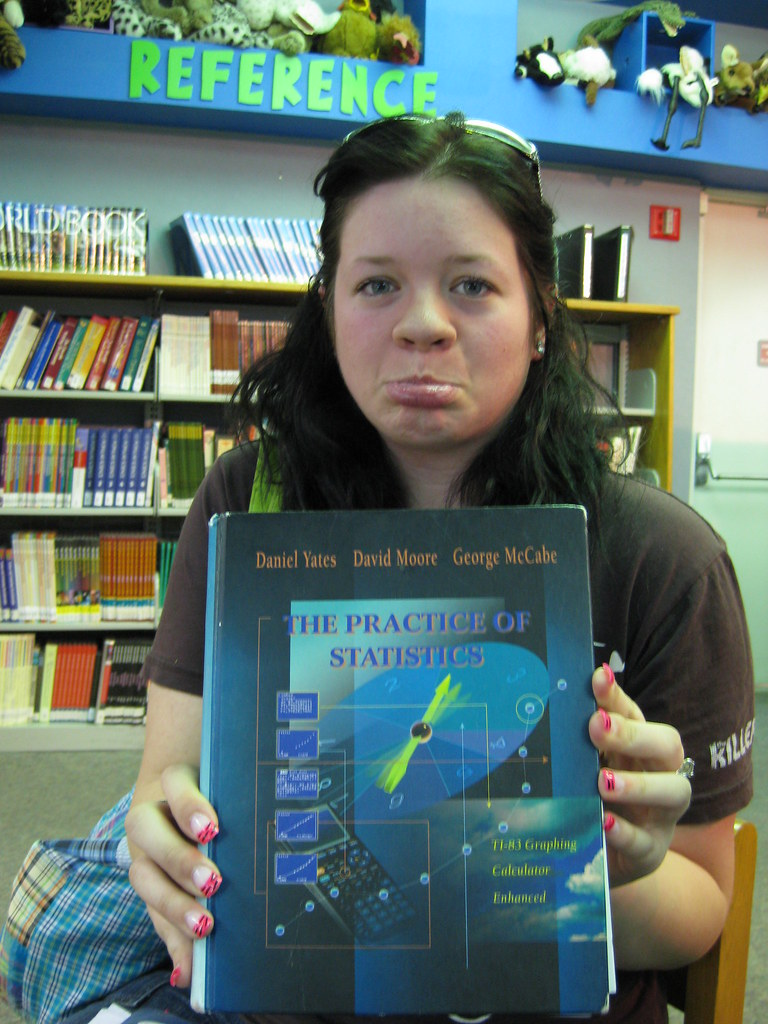 no love for math (Captain Manta) Tags  library courtney stats statistics  textbook 3a0e79ed7