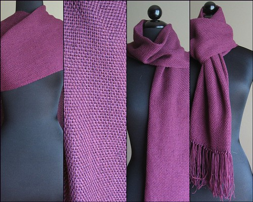 Simple Purple Scarf