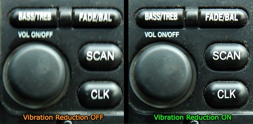 Vibration Reduction example