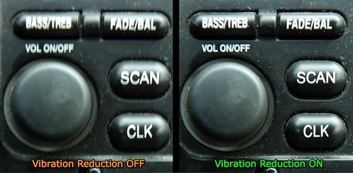 Vibration Reduction example