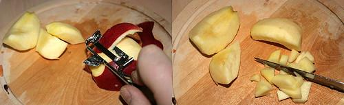 12 - Apfel würfeln