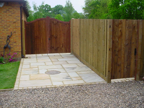 Indian Sandstone Driveway  Image 15