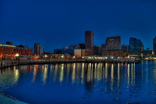 Baltimore's Inner Harbor, Early Morning 3377347549_2a45cbd39f