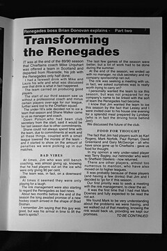 Transforming the Renegades