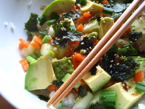 ... sushi cake sushi rice deconstructed sushi bowl sushi rice salad blog