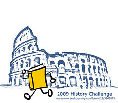Bookcrossing 2009 History Challenge picture