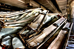 (chasingcars36) Tags: chicago abandoned illinois factory decay urbanexploration batman darkknight urbex brachs brachscandyfactory