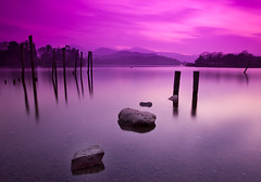 Lake District in Pink .. (JOSEF.) Tags: uk lake nature stone woods lakedistrict 8 josef nd derwentwater supershot pinkfilter 5dmarkii wwwysfphotocom