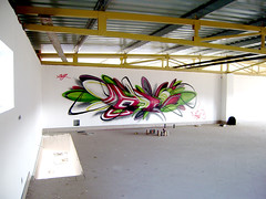 last saturday (mrzero) Tags: building abandoned lines wall effects graffiti paint hungary eger letters spray colored spraypaint graff cfs mrzero