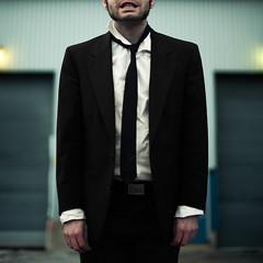 (Benoit.P) Tags: man color montréal mtl portait conceptual mauricie homme cravate troisrivières veston artlibre artlibres benoitp