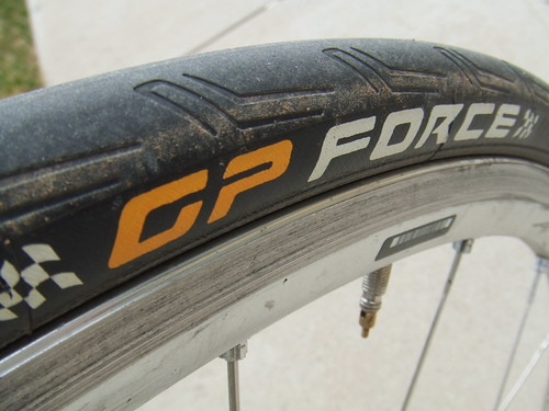 Fresh Continental road rubber