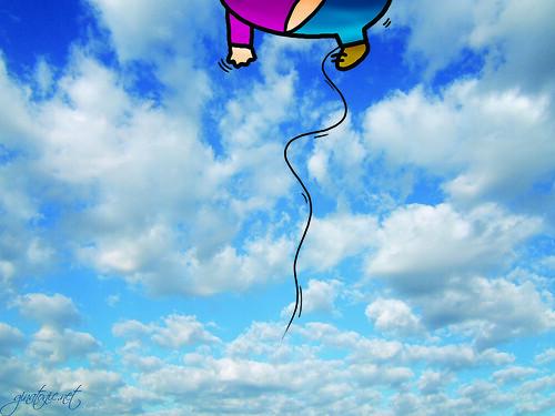 gorda volando