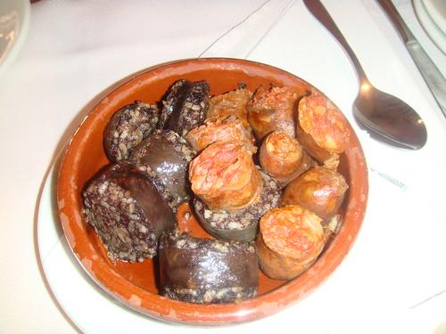 Chorizo y Morcilla