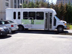 H Street shuttle bus