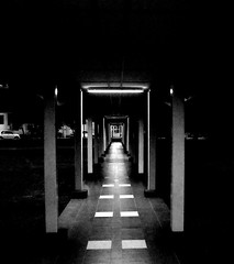 Your destiny (norhafydzahmahfodz™) Tags: blackandwhite bw darkness perspective your fate destiny unknown lorong perspektif sunyi kegelapan kesunyian