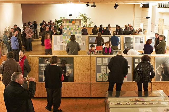 Ausstellung Rolf Mller by Bundscherer