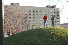 King of the Hill (lorijohernandez) Tags: photowalk grandrapids abeautifulevening covenantcrc