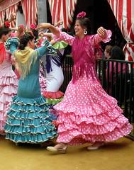 Feria Fever (Colleen Kirkland) Tags: smile sevilla spain europe seville laferia