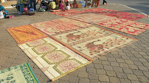 076.皇宮外販賣地毯的小販