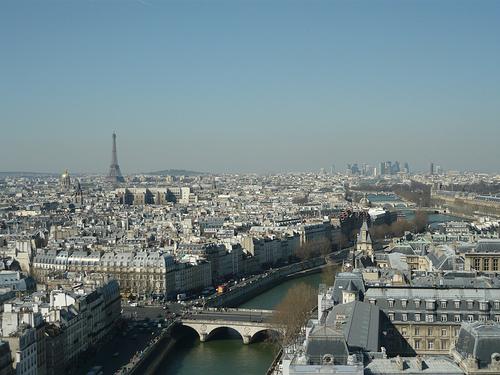 Veduta di Parigi da Notre Dame