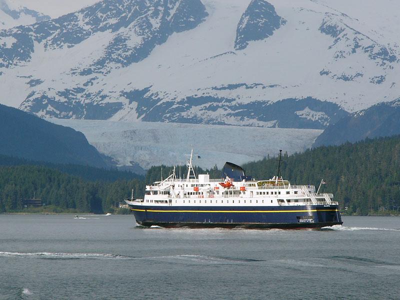 Alaska Marine Highway System Ferry Malaspina