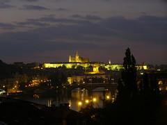 Z Wyszehradu (magro_kr) Tags: castle night river prague cathedral illumination praha praga czechrepublic vltava noc vysehrad katedra zamek vyšehrad rzeka czechy oswietlenie iluminacja oświetlenie wyszehrad wełtawa weltawa českárebublika