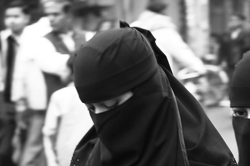 the veil behind the islamic societys treatment for women The world's muslims: religion, politics and society the survey finds that muslim women are often islam and contemporary society.