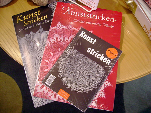 Kunststricken lace books