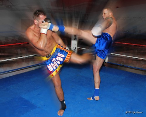 US Marines Fighter Muay Thai