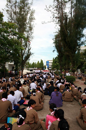 Thai School Assembly