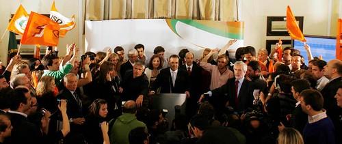 Vitória do PSD nas Europeias