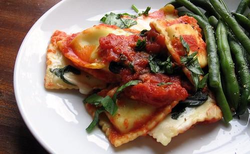 Italian Ravioli Casserole