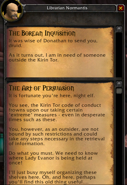 Kirin Tor's Borean Inquisition