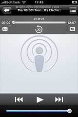 Podcast Controls