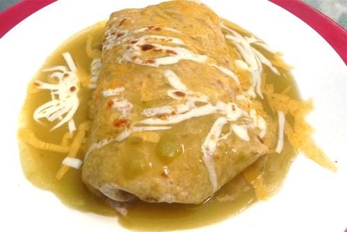 """The Works"" Breakfast Burrito"