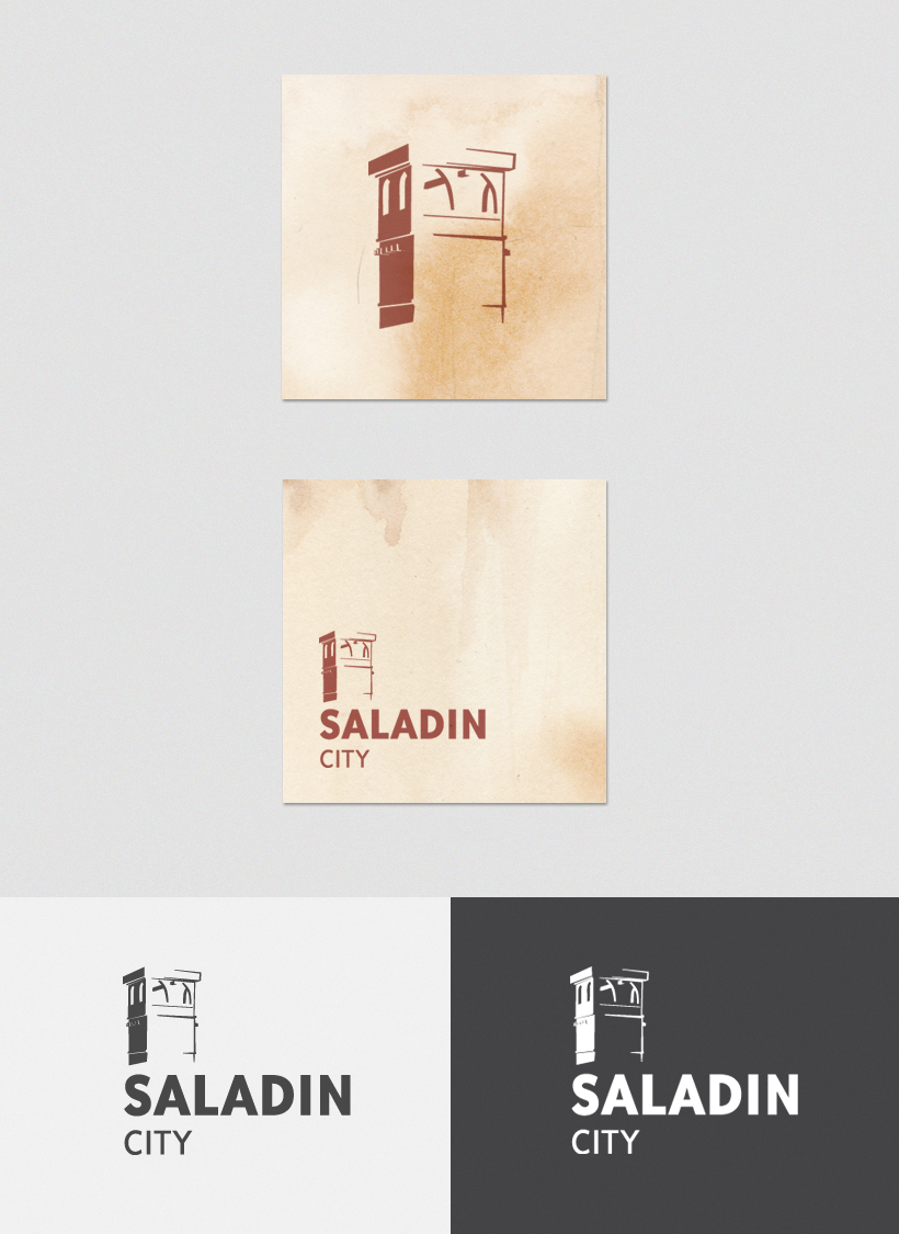 saladin city logo