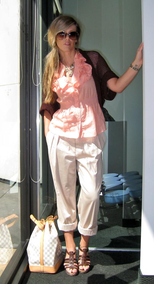 pink-ruffles-khaki-pants-1