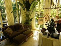 Mrs. Cravens' Sun Room - Karina Oldemans Interior Design