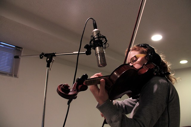 Lucan Pipkin on violin