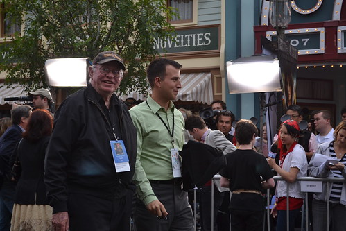 Retired Disney Archivist Dave Smith on the Pirates of the Caribbean: On Stranger Tides Black Carpet