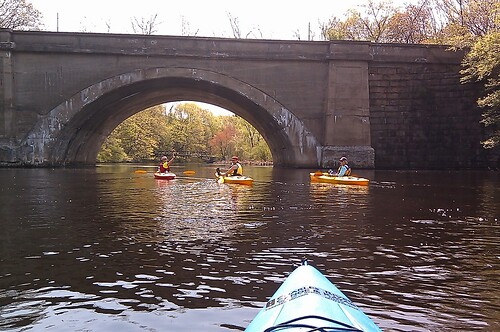Kayaking on the Charles River