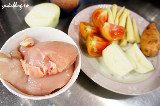 [試用]*愛的副食品12M+ ~ 蕃茄玉米地瓜雞肉全餐 & 鴻禧菇鱈魚泥 & 寶寶健康蒸蛋糕 & 葡萄冰沙 (出動飛利浦HR1364手持攪拌器)