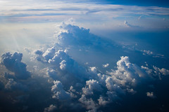 Clouds at altitude (Lil [Kristen Elsby]) Tags: travel blue sky cloud topv2222 clouds plane flying inflight asia flight aerial midair topf150 maldives cloudscape southasia travelphotography canong12
