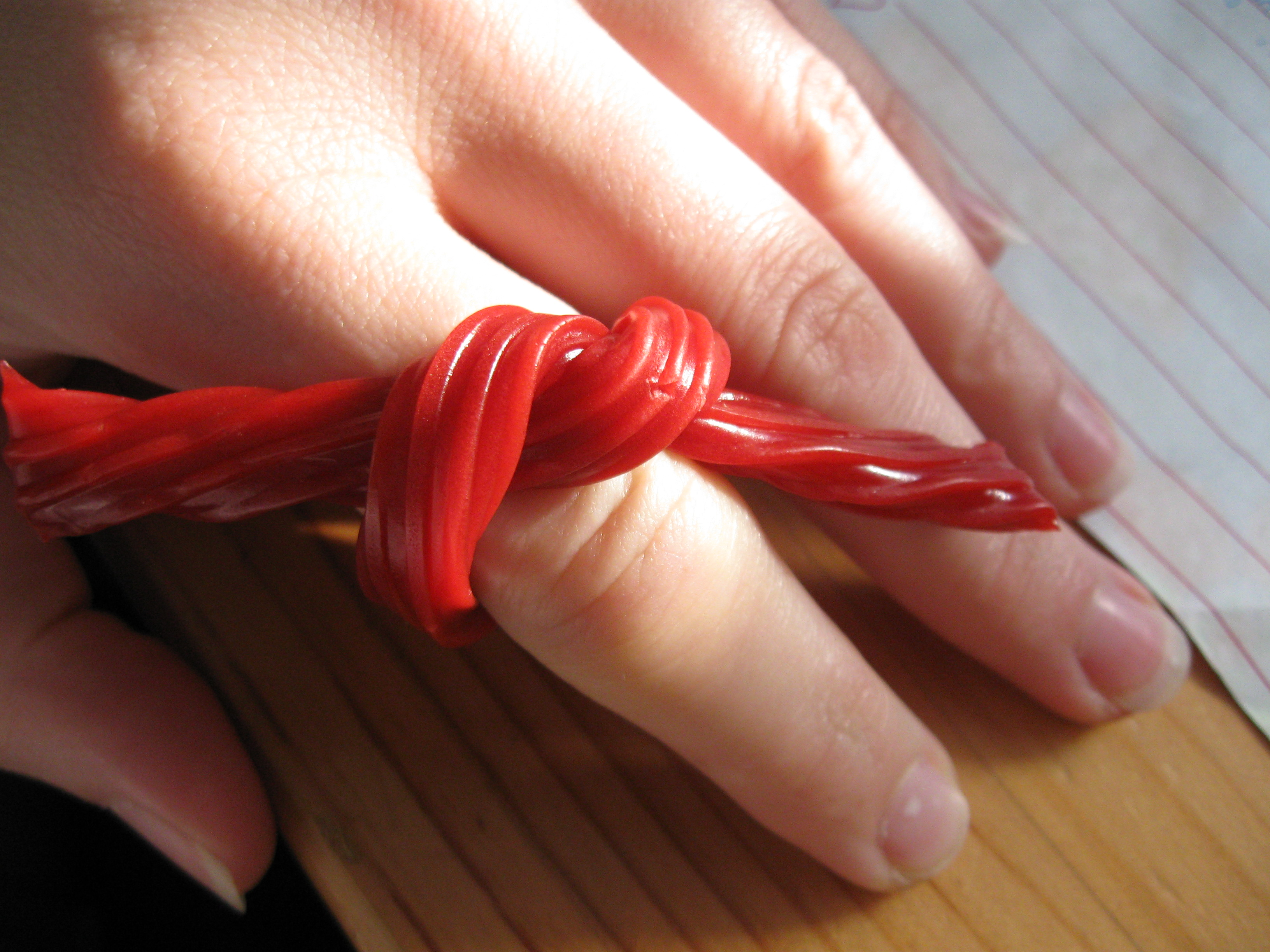 Twizzler Bow Ring