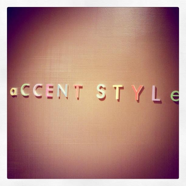 Accent Style Harajuku