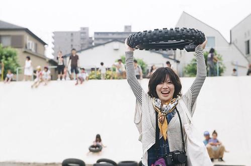 Tire Girl