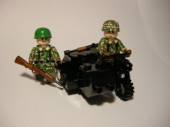 BMW R75 LEGO (MR. Jens) Tags: world two war military wwii bmw ww2 afrika r75 civilian dak deutsche wehrmacht korp r71 fallschirmjger
