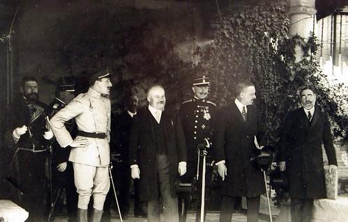 Alfonso XIII y Raymond Poincaré visitan Toledo en 1913. Foto Rodríguez